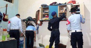 Sidak Lapas Serang, Petugas Temukan Benda-benda Terlarang di Kamar Narapidana