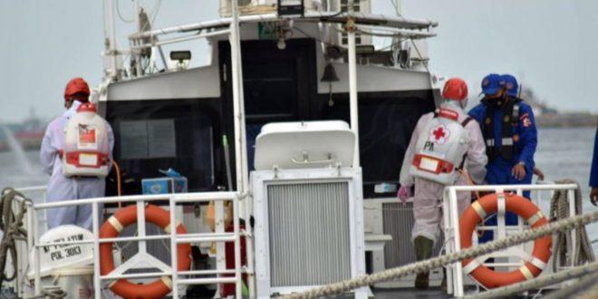 Relawan PMI Kota Tangerang Bantu Pencarian Korban Sriwijaya Air di Kepulauan Seribu