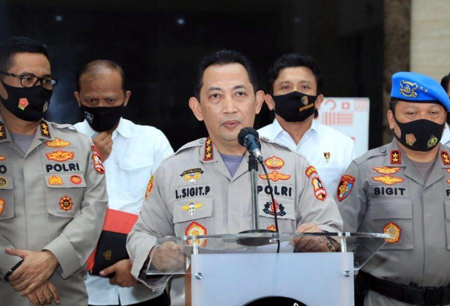 Komjen Listyo Sigit Prabowo Jadi Calon Tunggal Kapolri Pilihan Presiden Jokowi