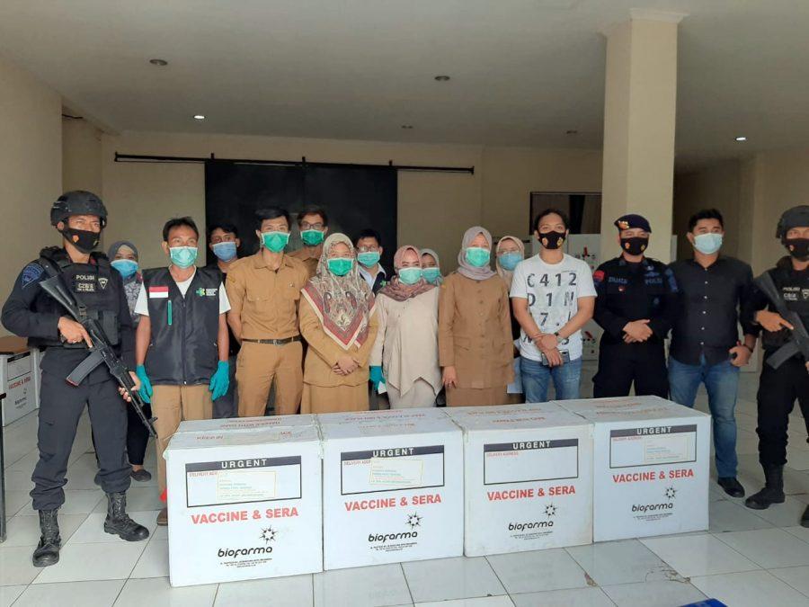 Dinkes Kota Tangsel Terima 8.920 Dosis Vaksin Covid-19 Sinovac