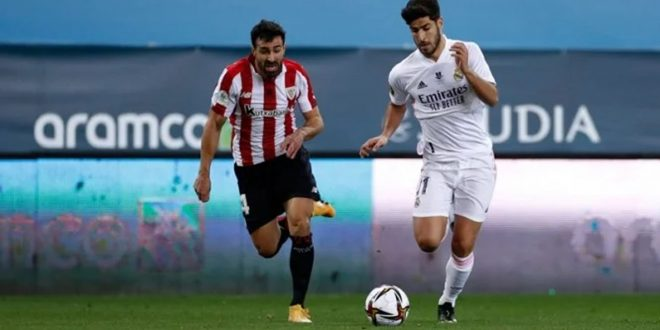 Pertandingan Real Madrid vs Athletic Bilbao: Skor 1-2, Raul Garcia Cetak Dua Gol