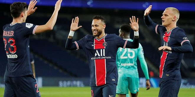 Paris Saint-Germain Puncaki Klasemen Usai Bungkam Angers
