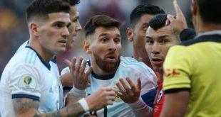 Dampak Kartu Merah, Lionel Messi Terancam Hukuman Skorsing 12 Pertandingan
