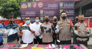 Polsek Cipondoh Tangkap Jaringan Penadah Motor Curian Antar Provinsi