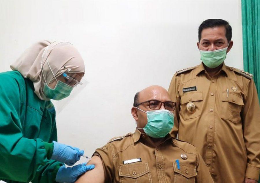 Wali Kota Serang Pastikan Tidak Ada Penolakan Suntik Vaksinasi COVID-19