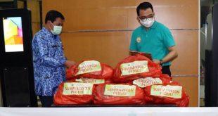 Pemkab Tangerang Terima 1.000 Paket Sembako Bantuan dari CSR Summarecon Peduli