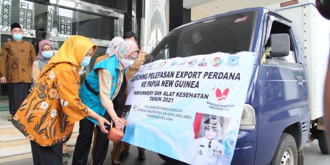 Walikota Airin Dorong UMKM Tingkatkan Ekspor Hasil Produksi