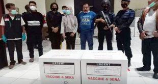 Polda Banten Kawal Pendistribusian Vaksin Covid-19 Sinovac ke Kabupaten/Kota