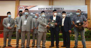 KPU Kota Cilegon Tetapkan Helldy-Sanuji Pemenang Pilkada 2020
