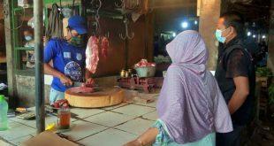 Pedagang Daging Sapi di Kota Tangerang Sudah Kembali Berjualan