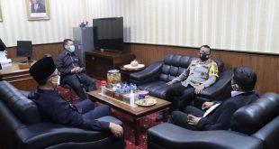 Mengawali Tugas, Kapolda Banten Irjen Pol Rudy Heriyanto Kunjungi DPRD Provinsi Banten