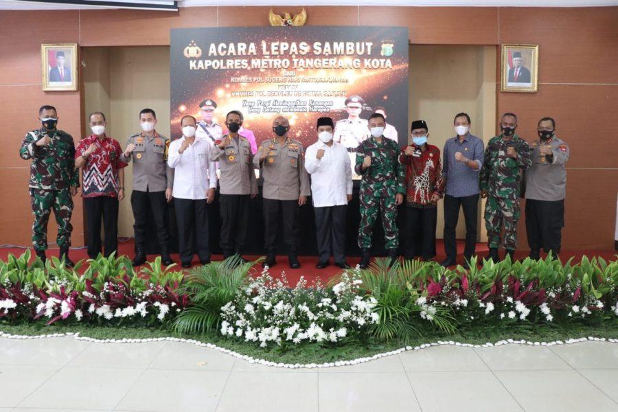 Ketua DPRD Kota Tangerang Hadiri Sertijab Kapolres Metro Tangerang Kota