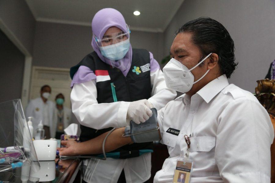 Gubernur Banten: Ikut Vaksinasi Covid-19 Bentuk Bela Negara