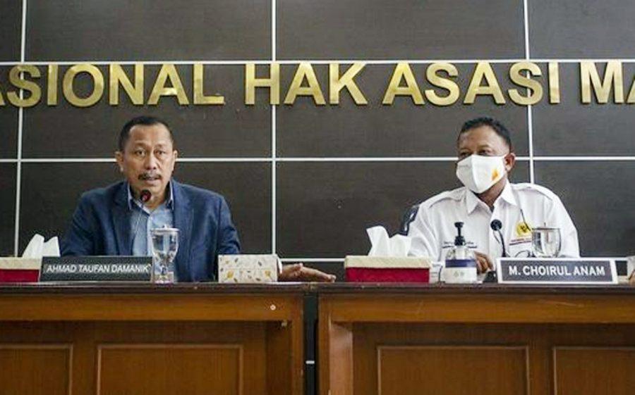 Komnas HAM Serahkan Hasil Investigasi Penembakan 6 Laskar FPI Ke Presiden Jokowi