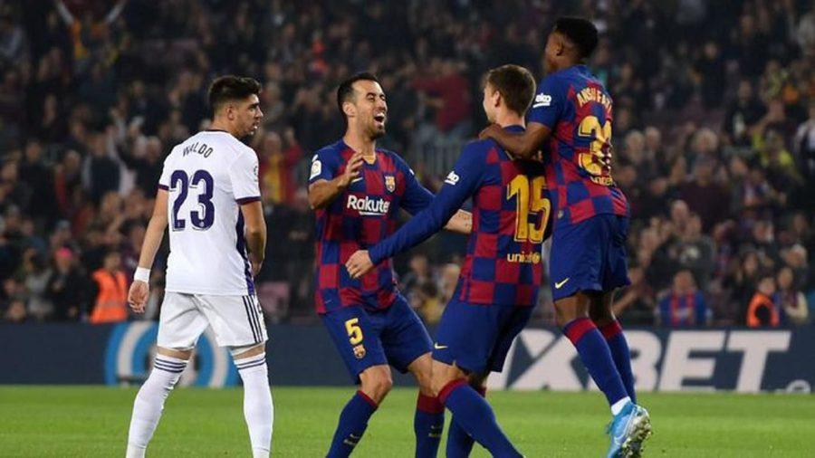 Barcelona Bantai Alaves dengan Pesta Gol 5-1