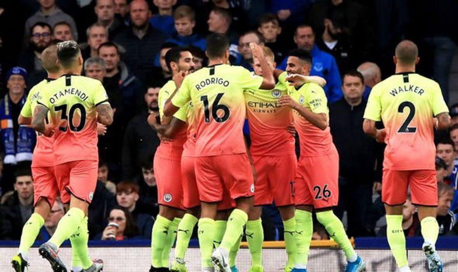 Man City Membungkam Everton dengan Skor 3-1