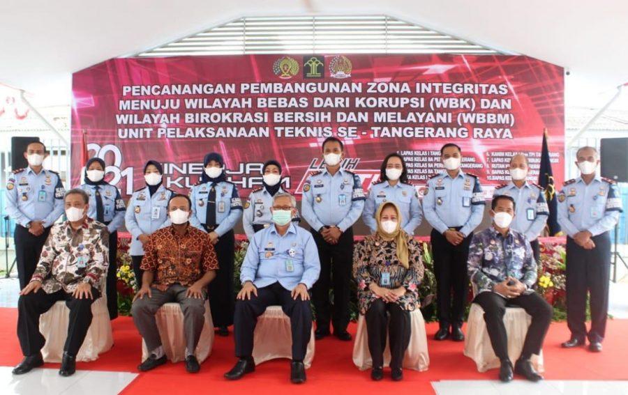 Rutan Kelas I Tangerang Deklarasi Janji Kinerja dan Pencanangan Zona Integritas Menuju WBK WBBM