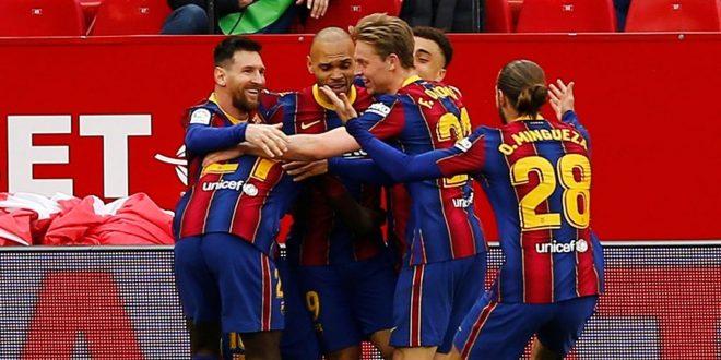 Hasil Liga Spanyol: Barcelona Gilas Sevilla dengan Skor 2-0