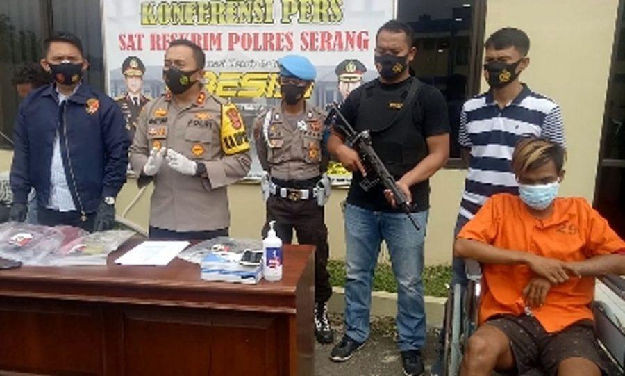 Polisi Tangkap Pelaku Pembunuhan Penjual Sayur di Cikande
