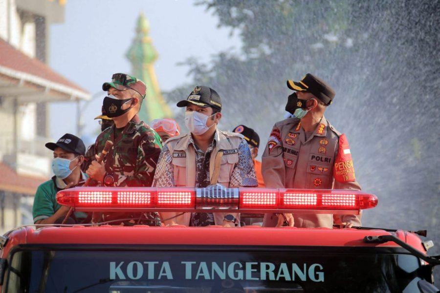 Kampung Tangguh Jaya Siaga Corona mulai Berjalan di Kota Tangerang