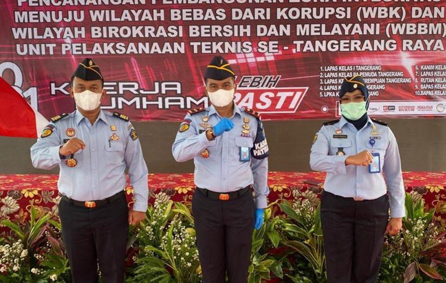 Lapas pemuda Tangerang Komitmen Bangun Zona Integritas WBK/WBBM