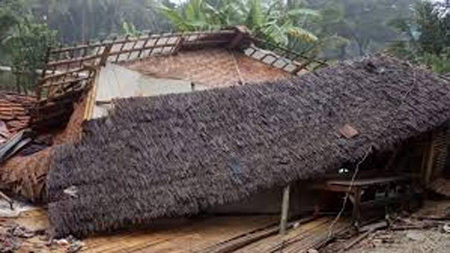 Korban Angin Puting Beliung di Kemiri Mendapat Bantuan dari Pemkab Tangerang