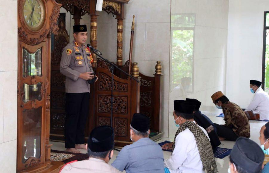 Kapolresta Tangerang Laksanakan Jumling di Masjid Husnul Khatimah