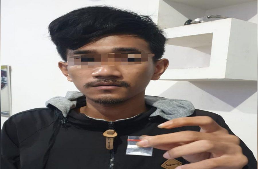 Polresta Tangerang Ringkus Pengedar Sabu usai Bertransaksi di SPBU Priuk
