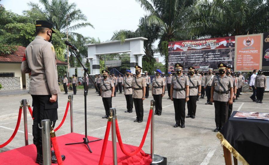 Kapolresta Tangerang Pimpin Upacara Setijab Kapolsek Cikupa