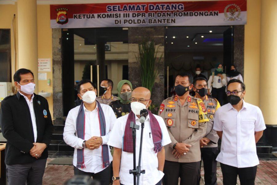 Polda Banten Terima Kunjungan Kerja Komisi 3 DPR RI