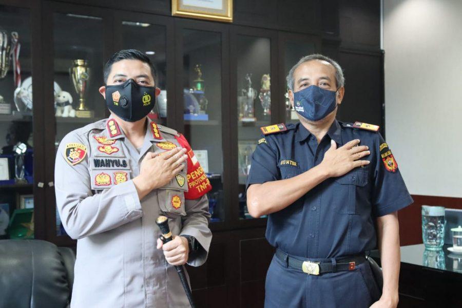 Implementasi Program Kapolri Presisi, Kapolresta Tangerang Silaturahmi ke Kepala Bea dan Cukai