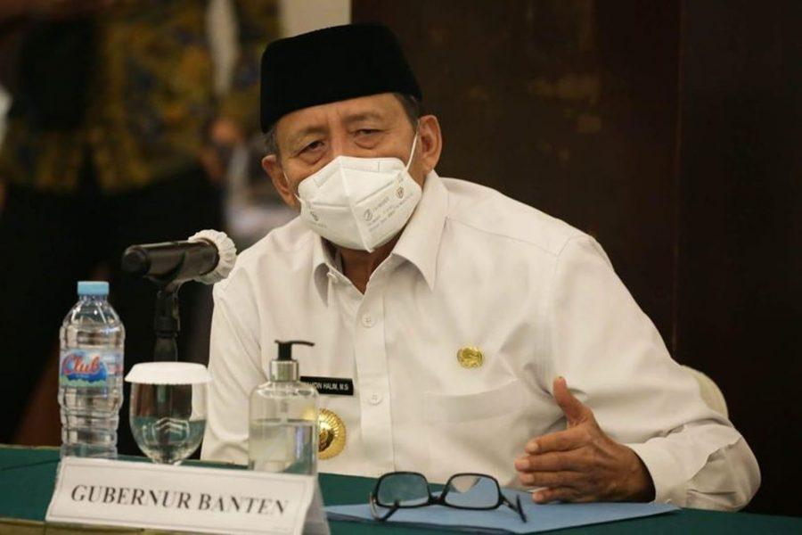 Wahidin Halim: Melalui PPKM Berbasis Mikro Penyebaran Covid-19 di Banten dapat Terkendali