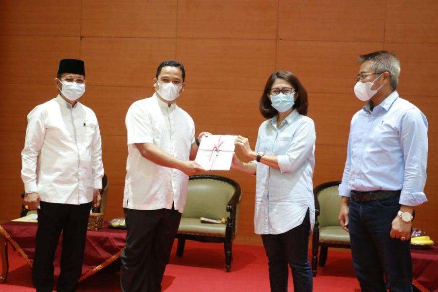 Pemkot Tangerang Terima 190 Sertipikat Hak Pakai Tanah Dari BPN