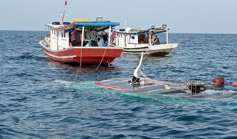 Kapal KM Sampoerna Terbalik, Satu Orang Penumpang Tewas Tenggelam