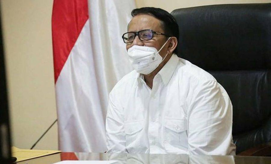 Wahidin Halim Menggelar Rakor Pembahasan PPKM Berskala Mikro di Provinsi Banten