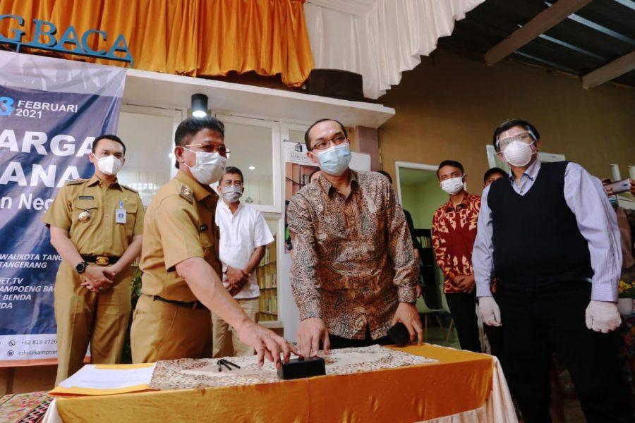Sambut HUT Kota Tangerang, Kecamatan Benda Launching Program SKSS