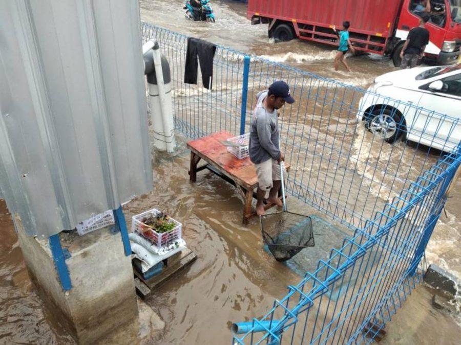 Empat Titik Banjir di Kota Tangerang Sudah Surut