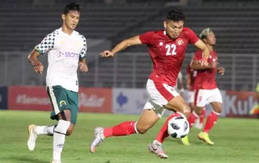 Timnas Indonesia U-23 Tumbangkan PS Tira Persikabo dengan Skor 2-0