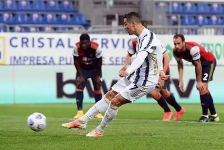Juventus Menang 3-1 atas Cagliari, Ronaldo CetakHattrickSempurna