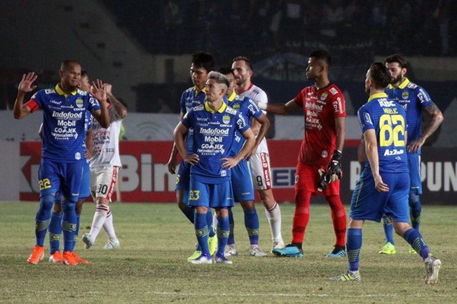 Persib Bandung vs Bali United Berakhir Berimbang Skor 1-1