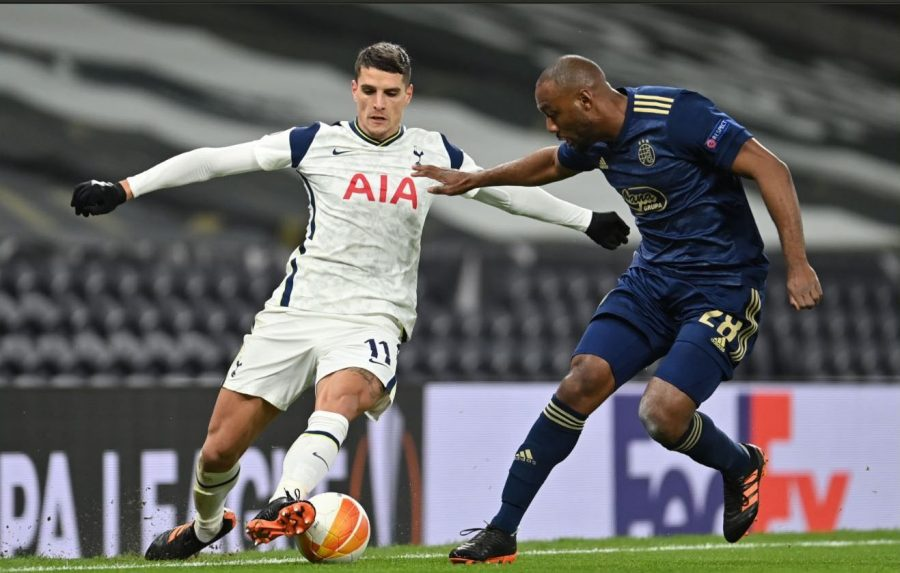 Hasil Pertandingan Tottenham vs Dinamo Zagreb: Skor 2-0
