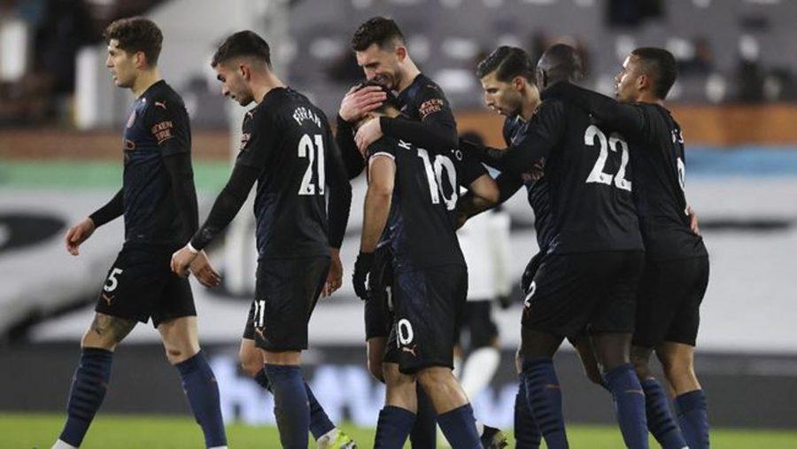 Hasil Pertandingan Manchester City vs Fulham: Skor 3-0