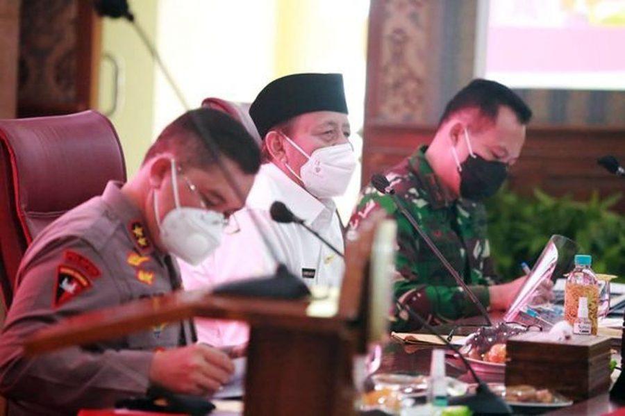 Penanggulangan Covid-19, Gubernur Banten Apresiasi Soliditas Polri, TNI, Pemda, dan Masyarakat