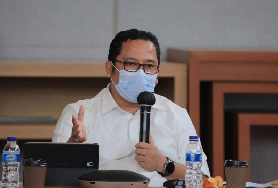 Walikota Arief Buka Kegiatan Penajaman Perubahan RPJMD 2019-2023