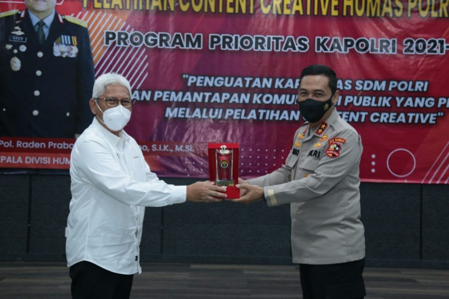 Program Prioritas Kapolri, Divisi Humas Polri Gelar Pelatihan Konten Kreatif bagi Personel se-Indonesia