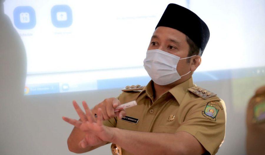 Walikota Arief Instruksikan Satpol PP Bongkar Tembok Penghalang di Jalan Akasia, Ciledug