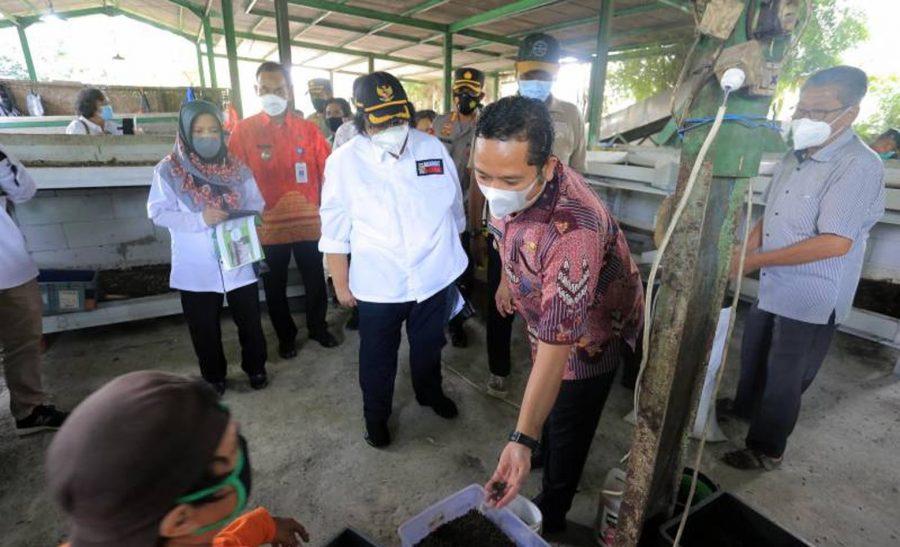 Menteri LHK Kunjungi Program Kampung Iklim TPST Benua Hijau Kota Tangerang