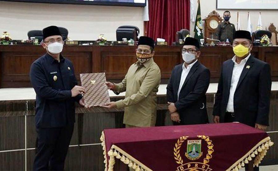 DPRD Banten Lanjutkan Bahas 3 Raperda Inisiatif, Wagub: Mari Diskusikan Bersama di Pansus
