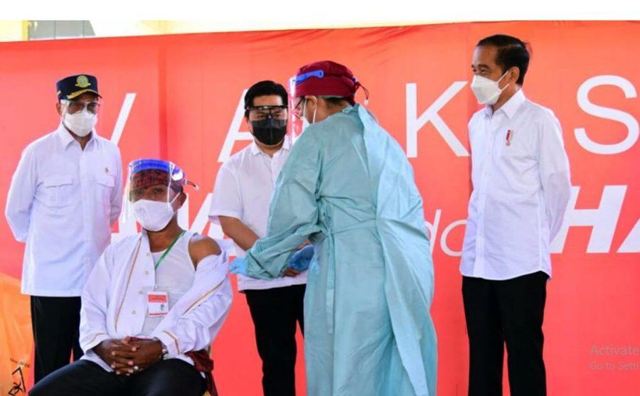 Presiden Jokowi Pastikan Distribusi Vaksin Merata Hingga ke Pelosok