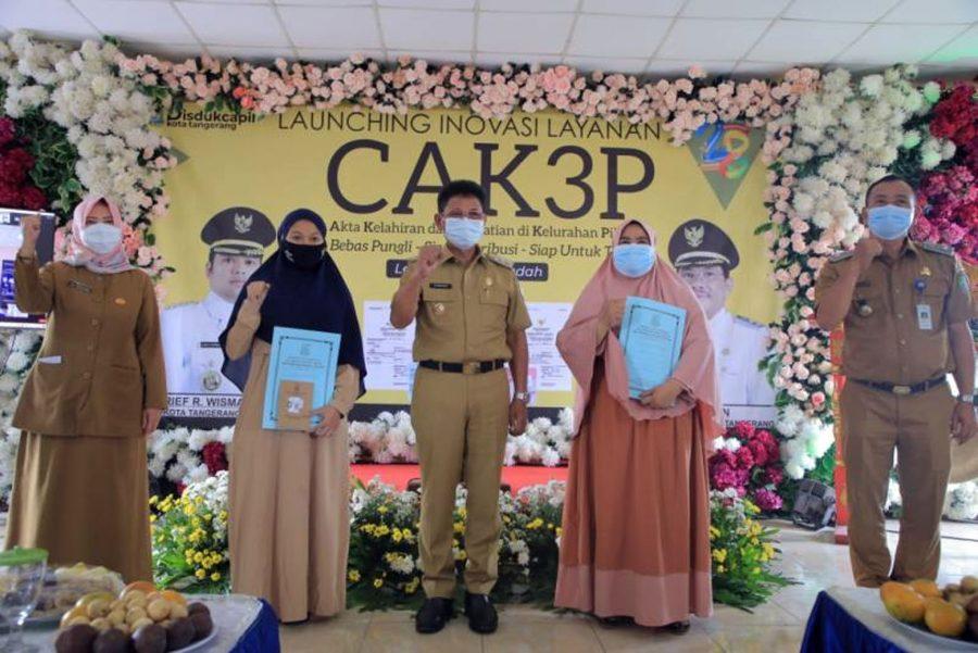 Pemkot Tangerang Luncurkan Program 'CAK3P' Cetak Akta Kelahiran dan Kematian di Kelurahan Pilihan